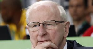 Pat Hickey: the former OCI president's  trial in Brazil on ticket touting charges was suspended in November 2017. Photograph: Jack Guezjack/AFP/Getty