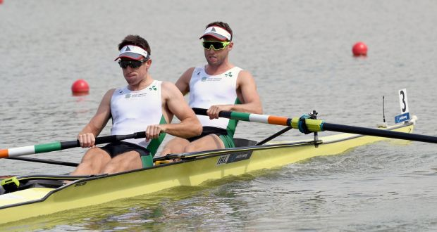 2630eb8819603 Mark O Donovan and Shane O Driscoll on their way to qualifying for the