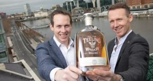 Teeling Whiskey founder and managing director Jack Teeling (right) said the company would look to build on the win.