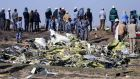 Ethiopian federal policestand at the scene of the Ethiopian Airlines  plane crash on March 11th. Photograph: Tiksa Negeri/Reuters/ File Photo