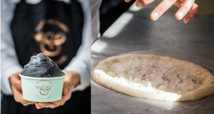 Get your game on: As Game of Thrones fever descends, a Dublin restaurant is serving ice-topped pizza and black ice-cream