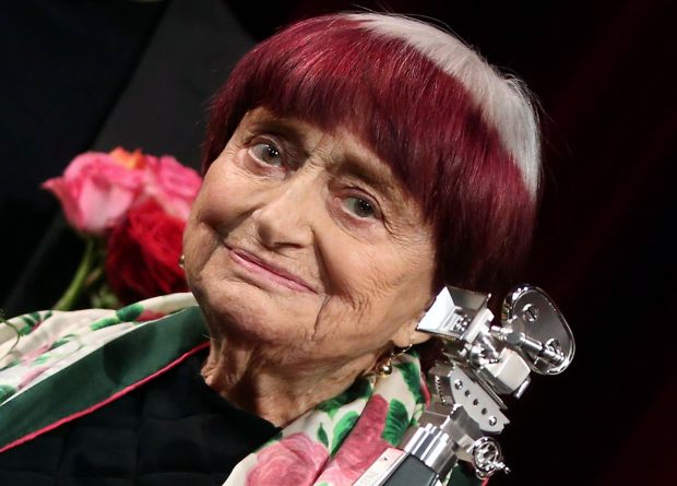 Agnes Varda: became the oldest person nominated for a competitive Academy Award when Faces Places landed in the best feature documentary in 2017. Photograph: Adam Berry/EPA