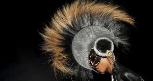 One of Philip Treacy's hats. Photograph: Jonathan Short/AP Photo