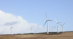 Coillte sold its stake in four wind farms for €136 million. Photograph: iStock