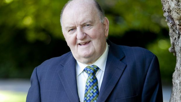 George Hook, an honorary member, said he was not aware of any initiation practices in the club. Photograph: Chris Bellew