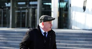 Patrick Quirke (50), of Breanshamore, Co. Tipperary, at court on Wednesday. Photograph: Collins Courts