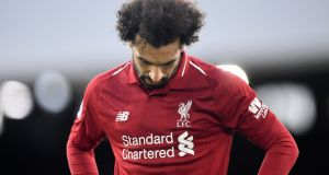 Mohamed Salah is part of a Liverpool team notable for their team work, not their star power. Photograph: Glyn Kirk/AFP/Getty Photograph: Michael Regan/Getty