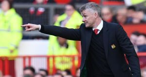Manchester United manager Ole Gunnar Solskjaer's current win rate is unsustainable. Photograph: Getty Images
