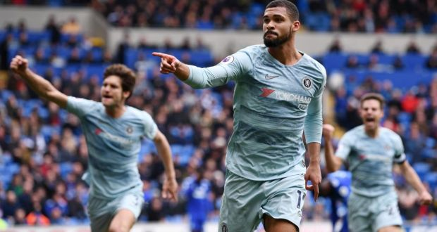 91376ac75 Ruben Loftus-Cheek of Chelsea celebrates scoring Chelsea s winner against  Cardiff City. Photograph