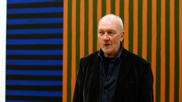 Sean Scully at the National Gallery of Ireland in May 2015. Photograph: Cyril Byrne