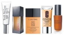 Spring into action with five great foundations for a light, dewy look