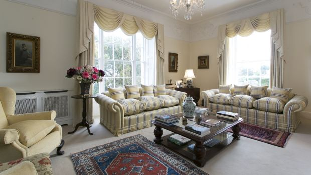 Drawing room at Ossory Lodge