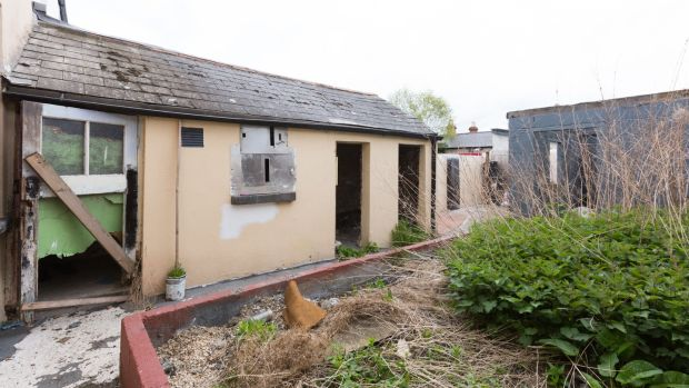 Before: Outhouses at 29 St Alban's Road Dublin 8