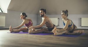 """The kind of hot yoga I chose was the Bikram method: a set of 26 postures and two breathing exercises performed over 90 minutes in heat that hovers between 35C and 42C."" Photograph: iStock"