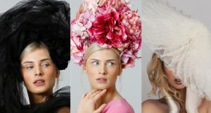 Irish design: millinery by Michelle Kearns, Deb Fanning and the Season Hats.