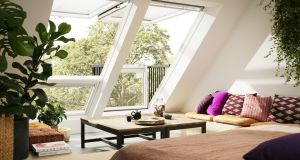 To make the attic space look and feel habitable, you need to factor in good sources of natural light and ventilation