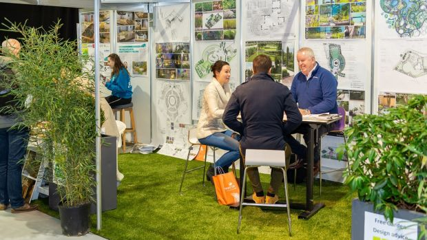 Garden design advice at the Ideal Home Show.