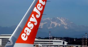Shares in Easyjet closed 9.7 per cent down. Photograph: Stefano Rellandini/File Photo/Reuters