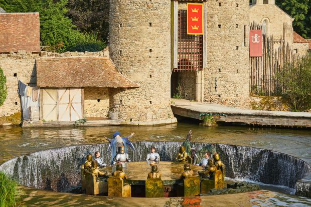 The Knights of the Round Table at Puy du Fou