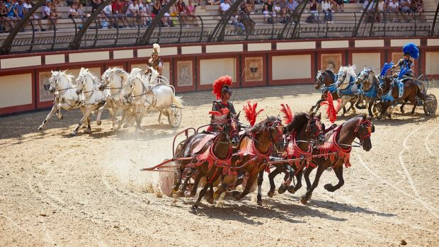 The Colosseum at Puy du Fou