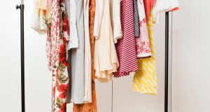 Before anything goes back into the wardrobe, we discuss whether it merits hanging or folding. Photograph: Getty Images