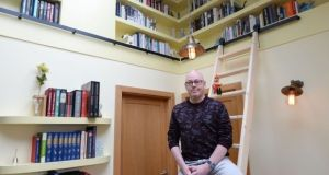 John Boyne pictured in his renovated home in Dublin. Photograph: Alan Betson