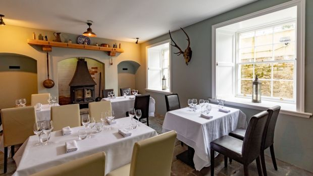 The basement private dining room at The Lady Anne at Creamery House, The Square, Castlecomer, Co Kilkenny.Photograph: Dylan Vaughan.