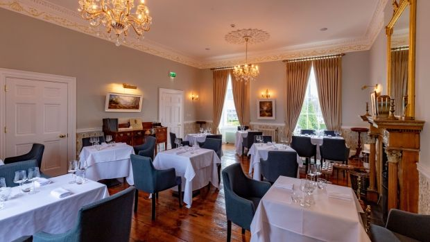 The main dining room at The Lady Anne at Creamery House, The Square, Castlecomer, Co Kilkenny.Photograph: Dylan Vaughan.