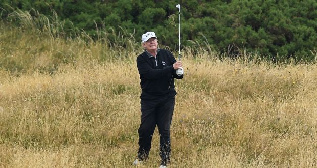 Donald Trump is 'world's worst cheat at golf', new book claims