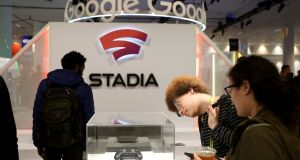 The idea of Google's Stadia is that you can play a game in seconds: no downloads, no updates. Photograph: Justin Sullivan/Getty Images