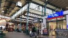 "The city sold Markthalle Neun (above)  in 2011 to new owners who promised to promote local retailers for people of ""every age, all social classes and nationalities"". Eight years on, things look very different"