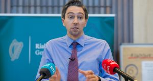 Did Simon Harris announce the free smear-testing measure without consulting the national screening service? Photograph: Gareth Chaney/Collins