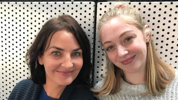 Ciara O'Callaghan and Emma Willis:start in Gary Duggan's Spotless, which is currently on nationwide tour.