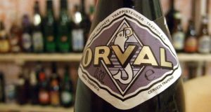 Orval: the Trappist ale features the legend of Countess Matilda on its label. Photograph: James Cridland/CC