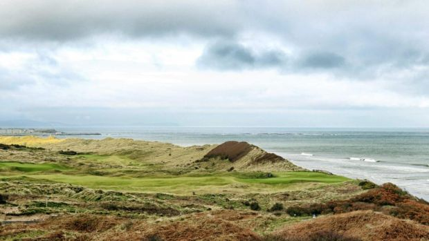 A general view of Royal Portrush, which is hosting the 2019 British Open. Photograph: Darren Kidd/Inpho