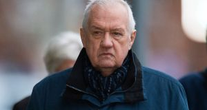 Former police chief suptrintendant David Duckenfield arrives at Preston Crown Court, in north west England in January. Photograph: EPA