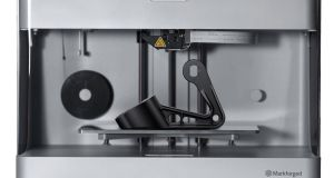 Markforged produces machines that print high-strength materials such as carbon fibre and MIM metals.