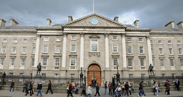 "Trinity College Dublin: some decried how  ""the third university of the British Empire"" was being reduced to ""the university of an Irish Ireland""."