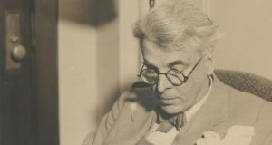 Signed photograph of WB Yeats sold at Bonham's for £5,000 (£1,500-£2,000)