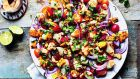 Milli's charred sweetcorn salad, from Bazaar, by Sabrina Ghayour.