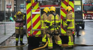 'Fire appliances that would not be on the roads anywhere else in Europe are used here and many of the fire appliances we are buying are second-hand,' the Oireachtas committee was told. File photograph: Gareth Chaney Collins