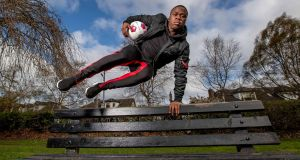 "Michael Obafemi: ""It's been bittersweet but hopefully I can get rid of the injuries and then just kick on.""   Photograph: Morgan Treacy/inpho"