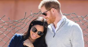 @sussexroyal: Meghan and Harry reached a million Instagram followers in 5 hours and 45 minutes. Photograph: Samir Hussein/WireImage/Getty