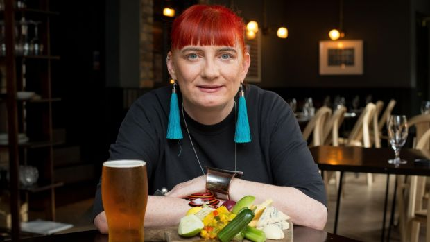 Elaine Murphy, owner of The Legal Eagle,Chancery Place, Dublin 1. Photograph: Tom Honan.