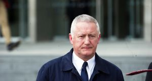 Chief Superintendent Dominic Hayes attending the murder trial on Thursday. Photograph: Collins Courts