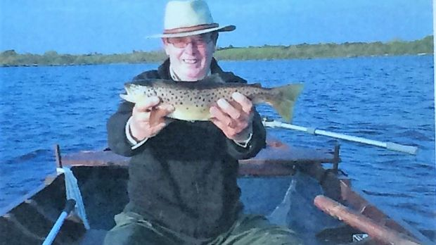 The late Sean Maloney: got on great with all his angling pals