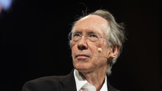 Ian McEwan. Photograph: 	David Levenson/Getty