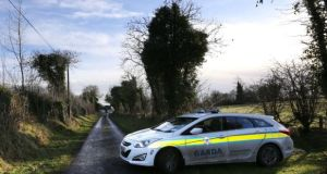 The scene at a house outside Strokestown, Co Roscommon last December after the attempted repossession took place. Photograph: Brian Farrell
