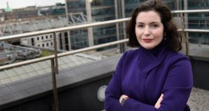 "Bank of Ireland chief executive Francesca McDonagh told the Oireachtas Committee on Finance: ""We are certainly looking at all options and that could include a sale of portfolios."" Photograph: Dara Mac Dónaill"