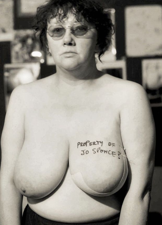 Jo Spence: the photographer made her breast cancer the centre of her work, documenting her body, pre- and postsurgery. Photograph: © Estate of the artist; courtesy of Richard Saltoun Gallery, London